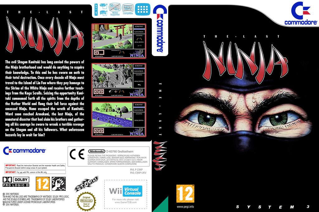 The Last Ninja Wii coverfullHQ (C9XP)