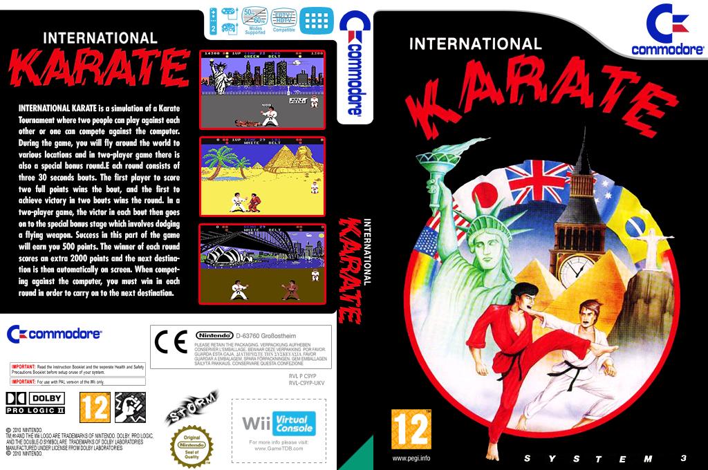 International Karate Wii coverfullHQ (C9YP)
