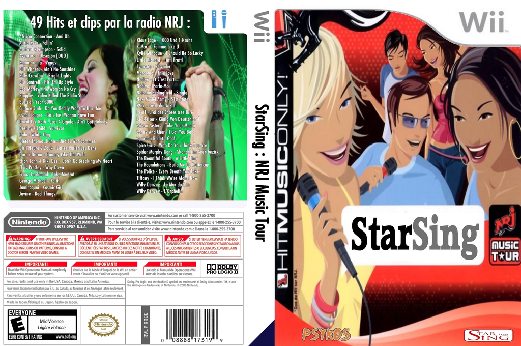 StarSing : NRJ Music Tour v2.0 Wii coverfullHQ (CS4P00)