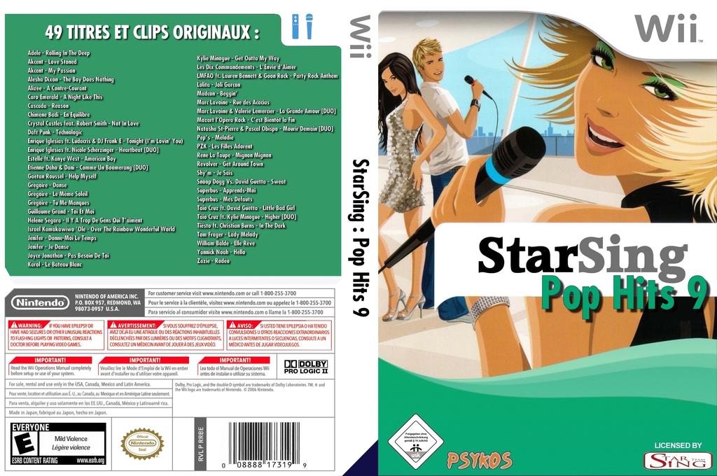 StarSing:Pop Hits 9 v1.0 Wii coverfullHQ (CS9PZZ)