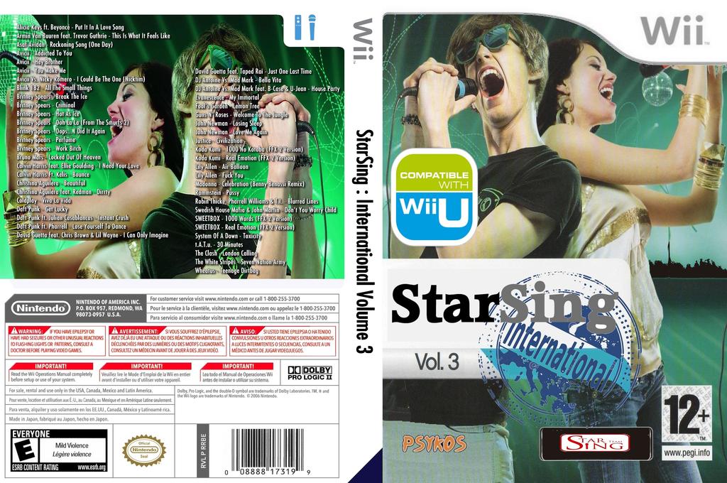 StarSing:International Volume 3 v1.0 Wii coverfullHQ (CSRP00)