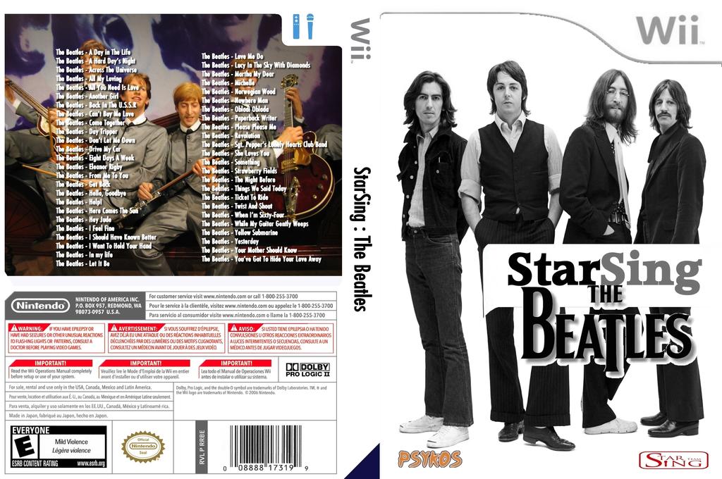 StarSing:The Beatles Volume 1 v2.0 Wii coverfullHQ (CSVP00)