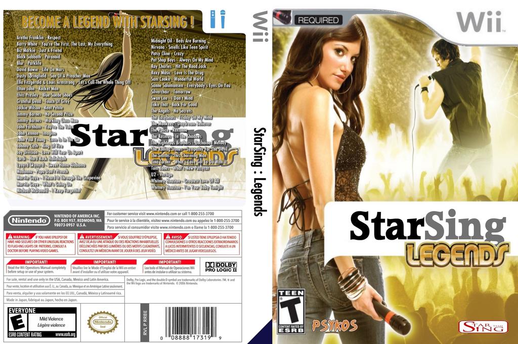 StarSing:Legends v2.1 Wii coverfullHQ (CT4P00)