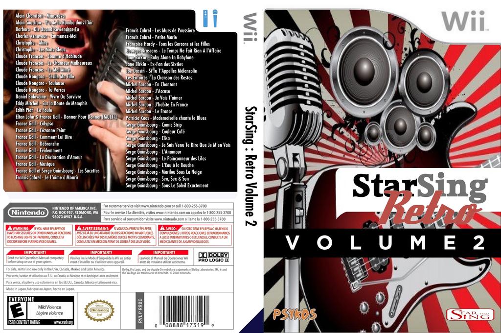 StarSing:Retro Volume 2 v1.0 Wii coverfullHQ (CTYP00)