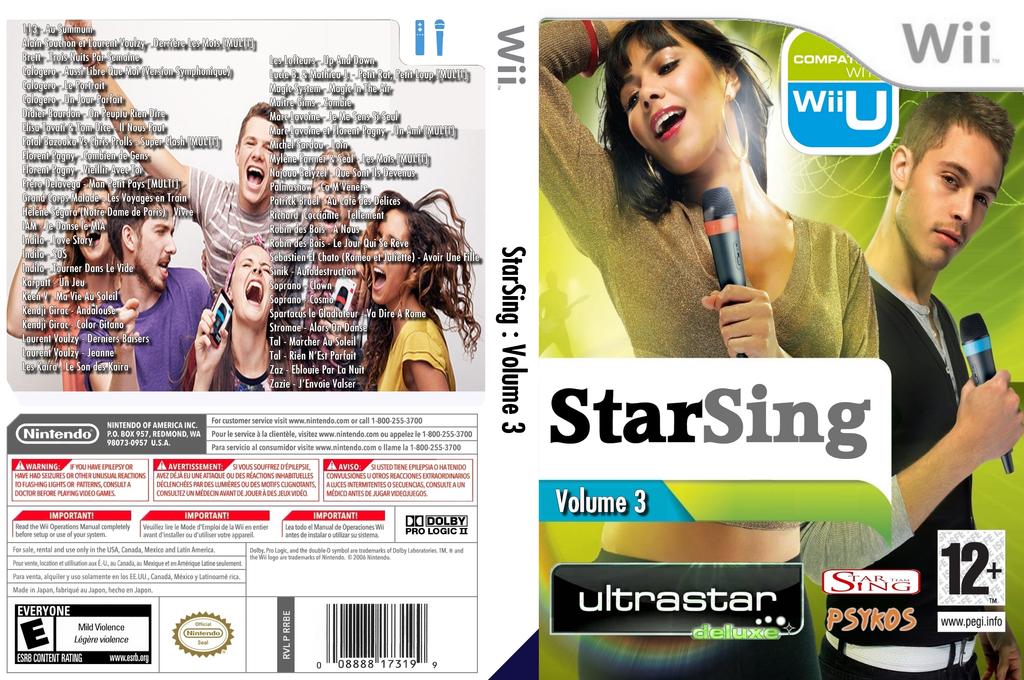StarSing:Volume 3 v1.0 Wii coverfullHQ (CTZP00)