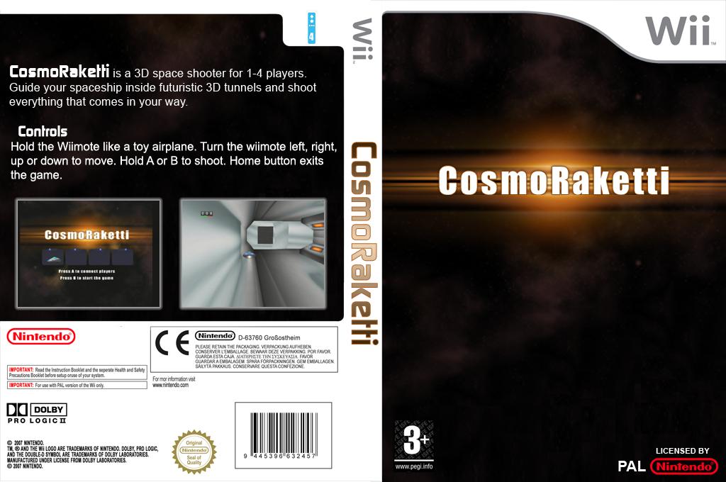 CosmoRaketti Wii coverfullHQ (DCRA)