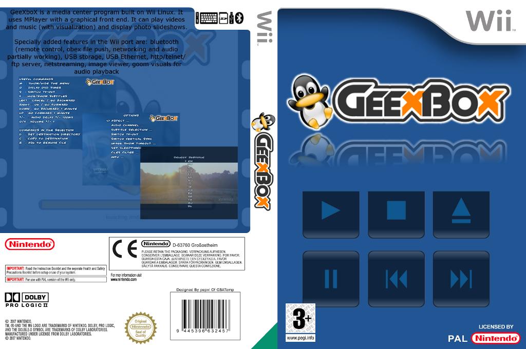 Geexbox Wii coverfullHQ (DGBA)