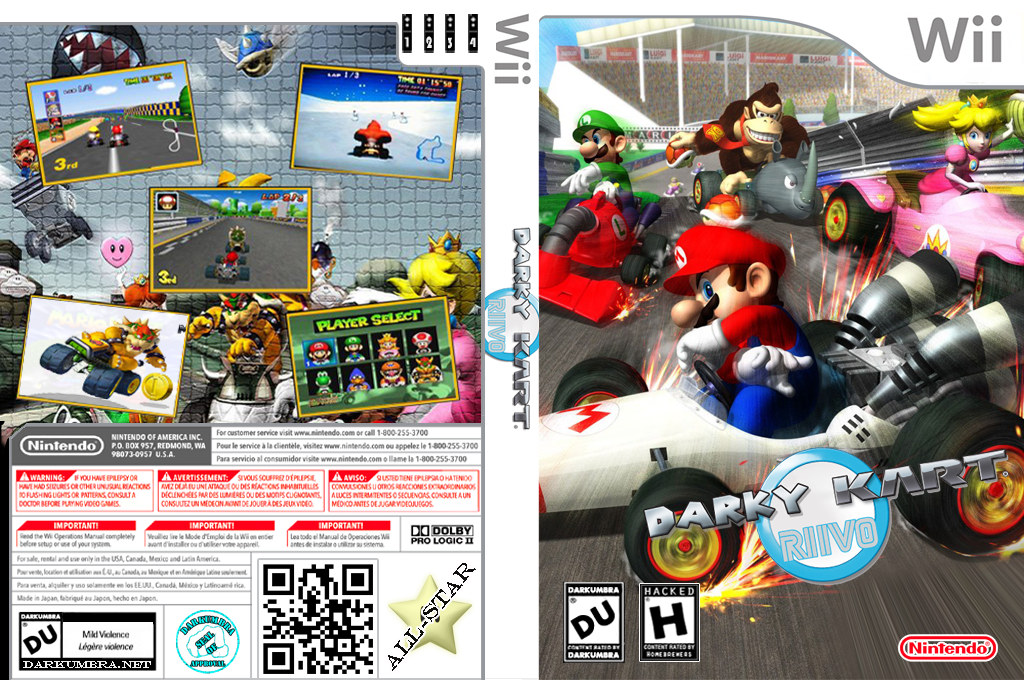 Darky Kart Riivo Wii coverfullHQ (DKCP01)