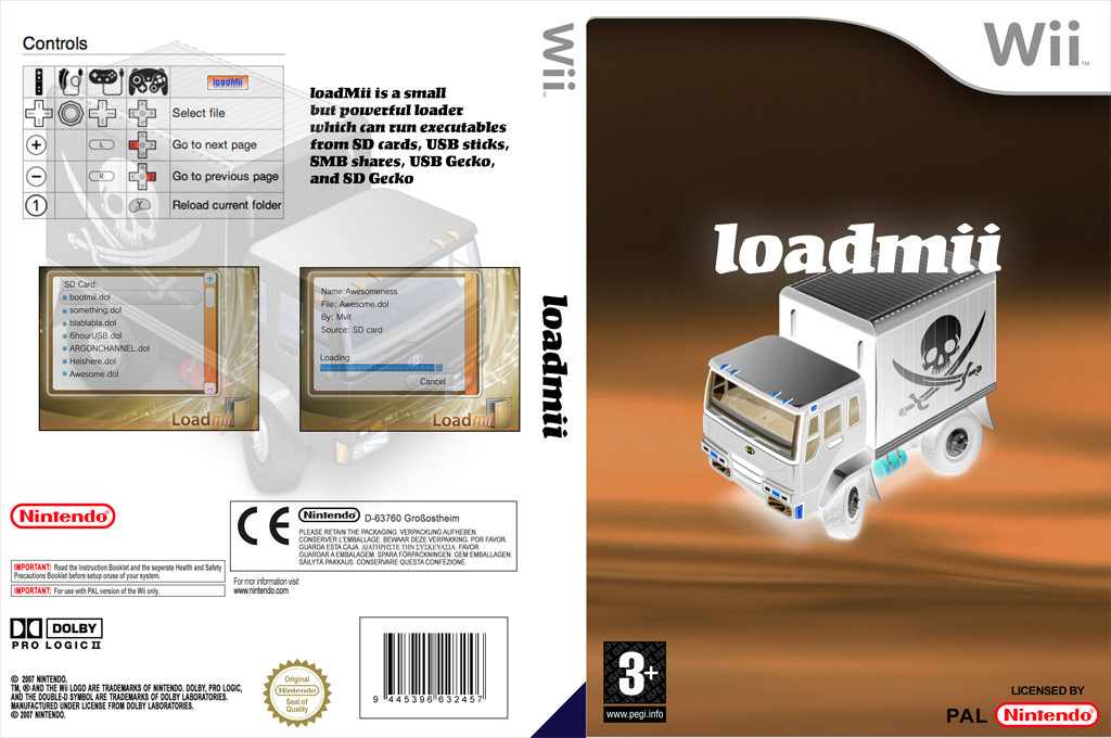 LoadMii Wii coverfullHQ (DLMA)
