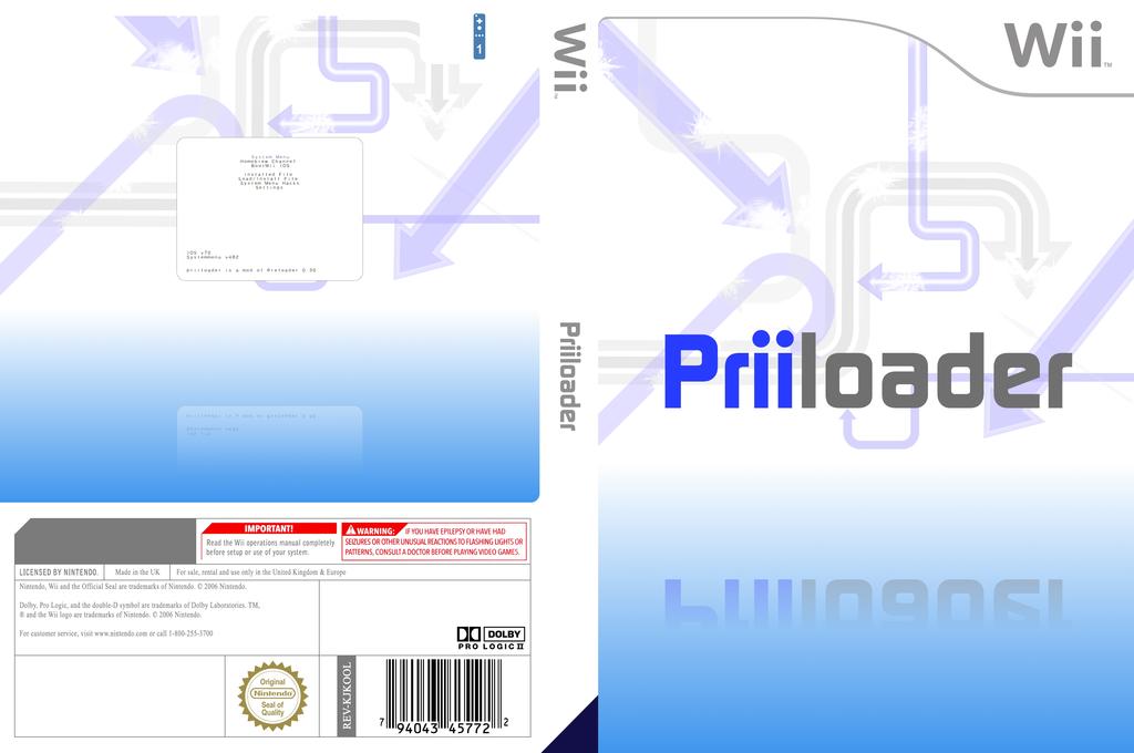 Priiloader Wii coverfullHQ (DPLA)