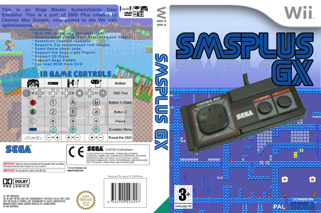 Sega Master System Plus Wii coverfullHQ (DSMA)