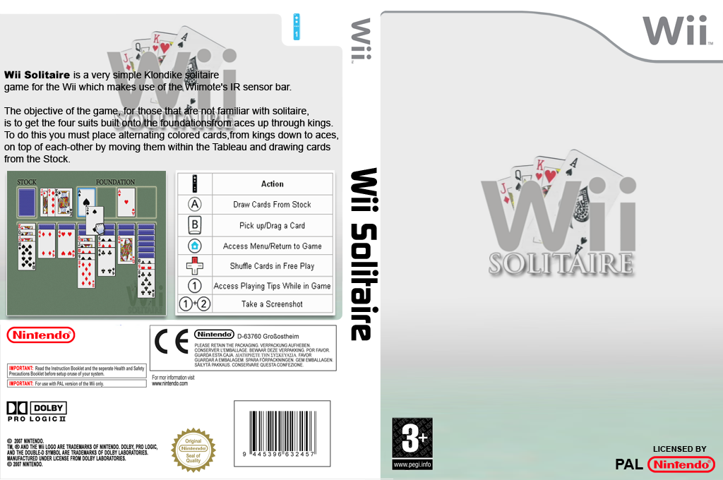 Wii Solitaire Wii coverfullHQ (DSTA)