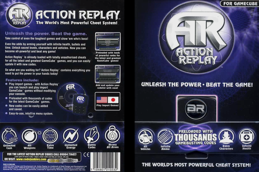 dtlx01   action replay
