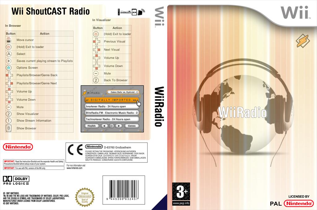WiiRadio Wii coverfullHQ (DWRA)