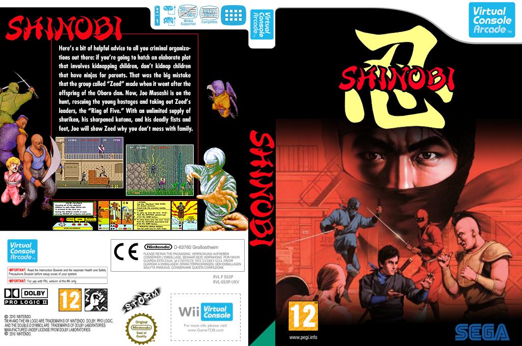Shinobi Wii coverfullHQ (E63P)
