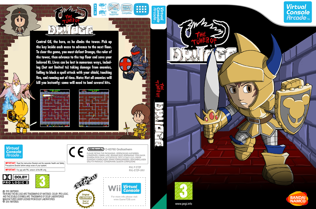 The Tower of Druaga Wii coverfullHQ (E7ZP)