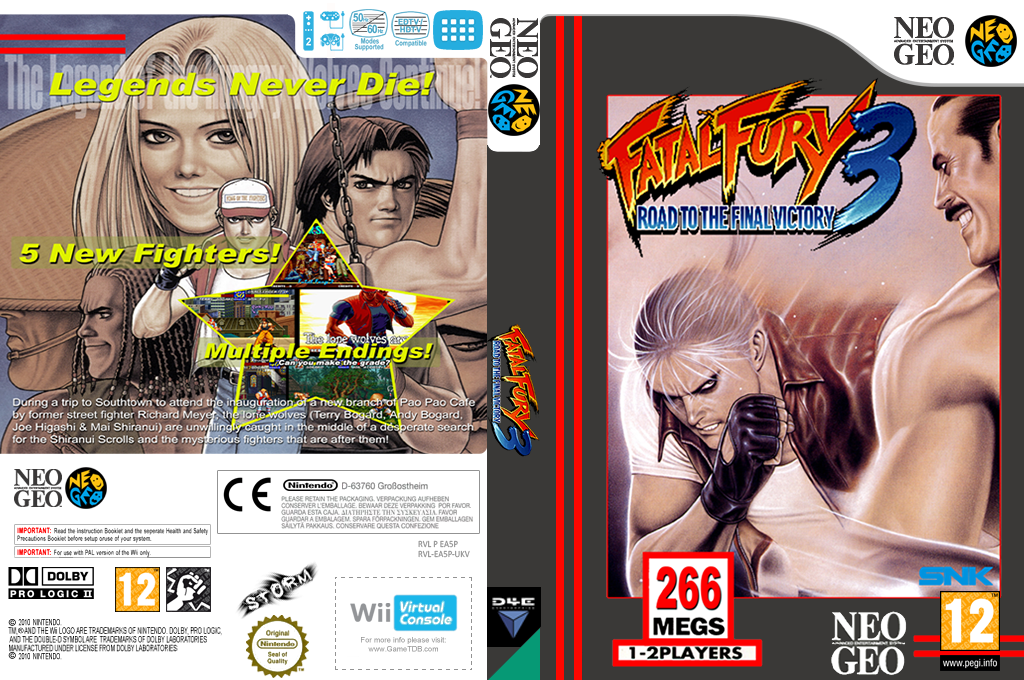 Fatal Fury 3: Road To The Final Victory Wii coverfullHQ (EA5P)