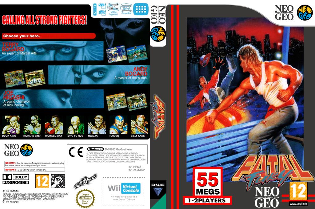 Fatal Fury Wii coverfullHQ (EAAP)