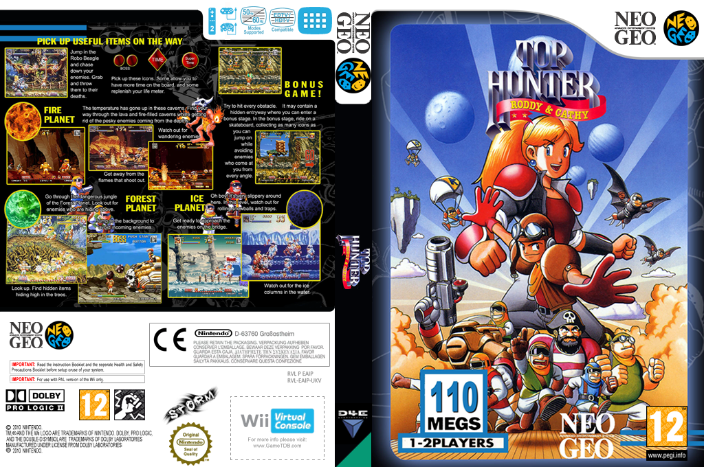 Top Hunter Wii coverfullHQ (EAIP)