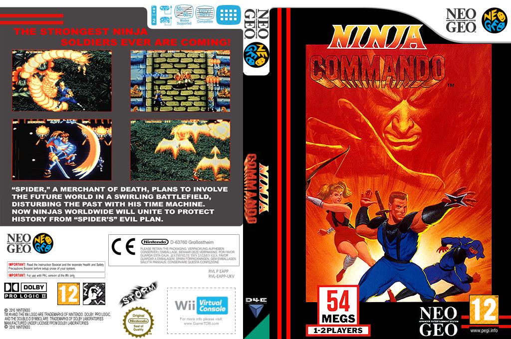 Ninja Commando Wii coverfullHQ (EAPP)