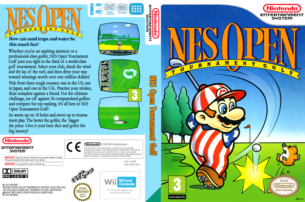 NES Open Tournament Golf Wii coverfullHQ (FAPP)