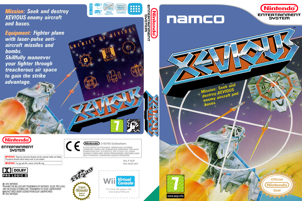 Xevious Wii coverfullHQ (FASP)