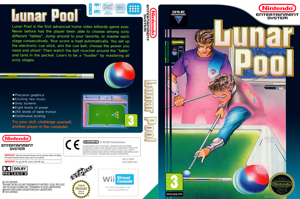 Lunar Pool Wii coverfullHQ (FB4P)