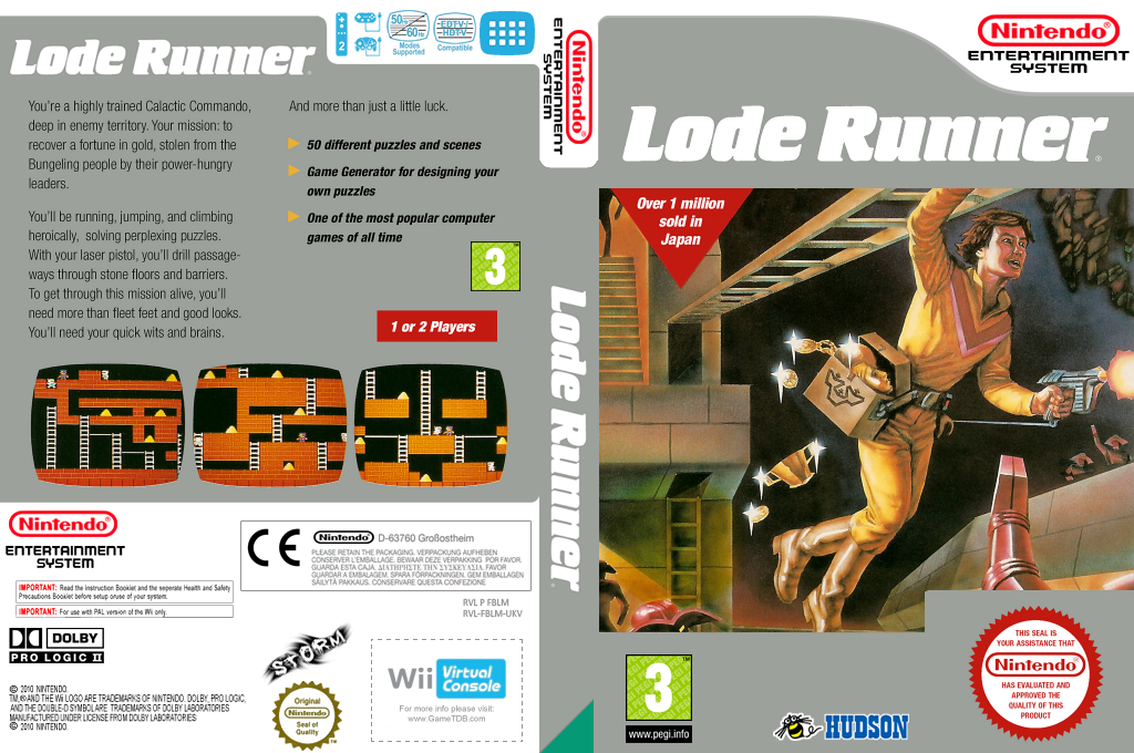 Lode Runner Wii coverfullHQ (FBLM)
