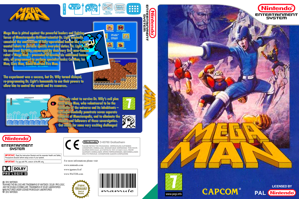 Mega Man Wii coverfullHQ (FCTP)