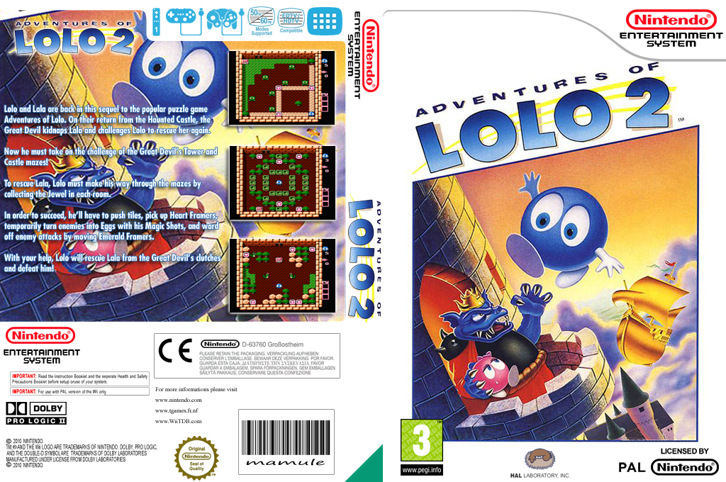 Adventures of Lolo 2 Wii coverfullHQ (FD6P)