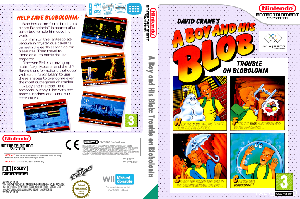 A Boy and His Blob: Trouble on Blobolonia Wii coverfullHQ (FFEP)