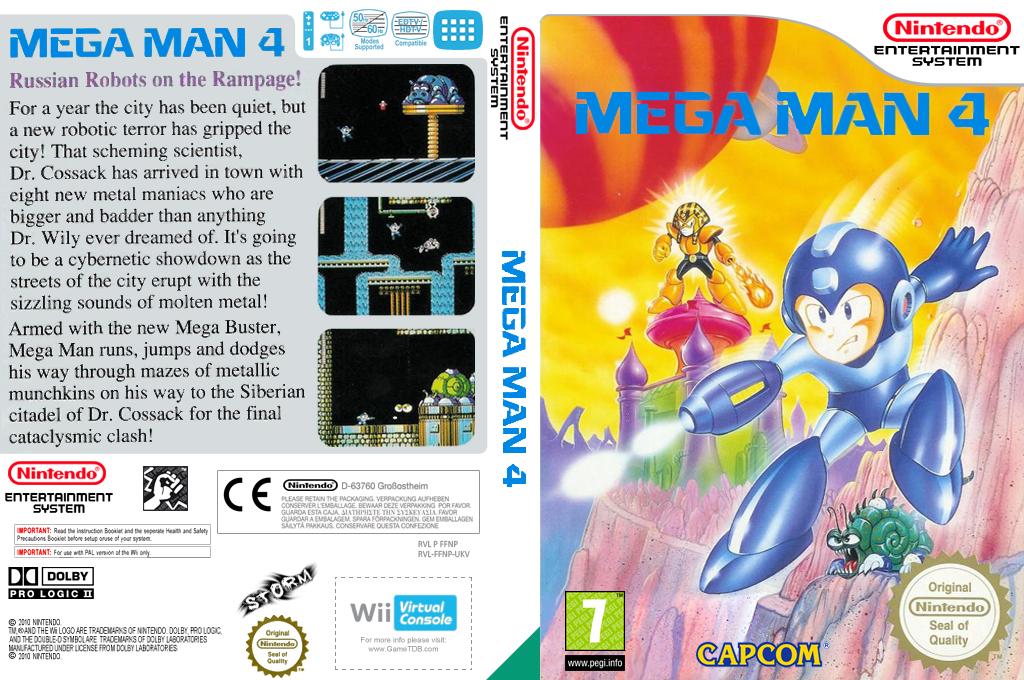 Mega Man 4 Wii coverfullHQ (FFNP)