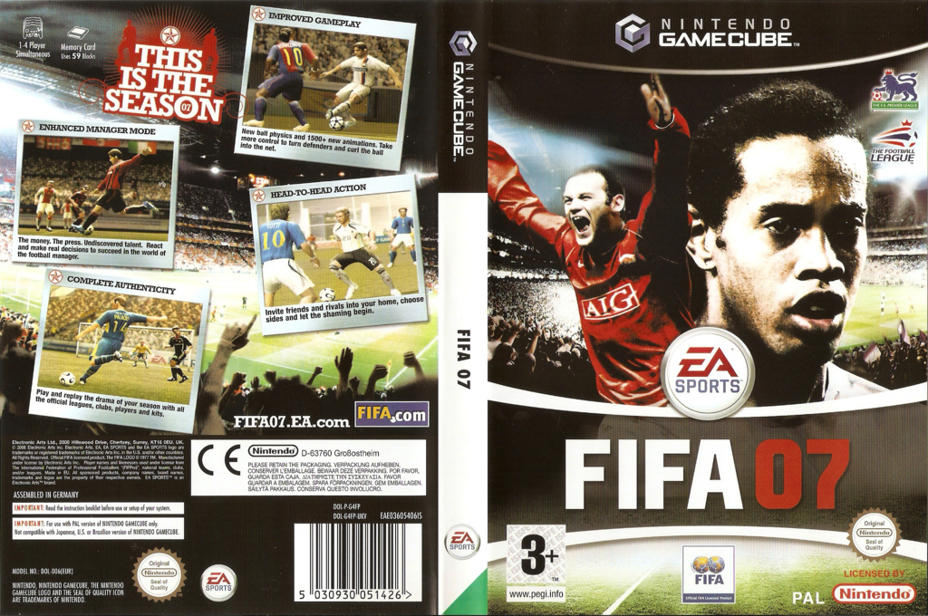 FIFA 07 Wii coverfullHQ (G4FP69)