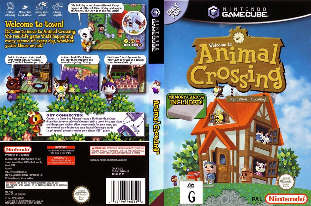 Animal Crossing Wii coverfullHQ (GAFU01)