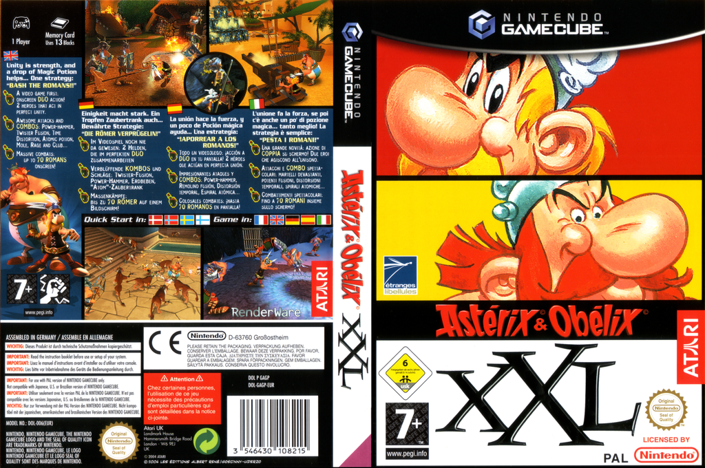 Asterix & Obelix XXL Wii coverfullHQ (GAGP70)