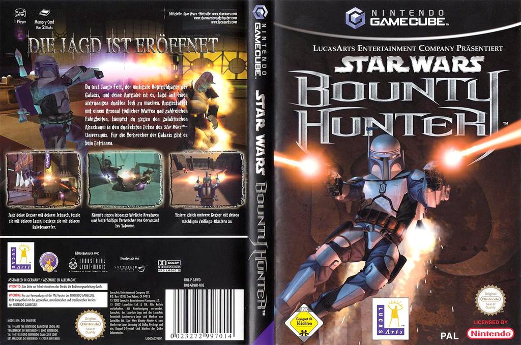 Star Wars Bounty Hunter Wii coverfullHQ (GBWD64)