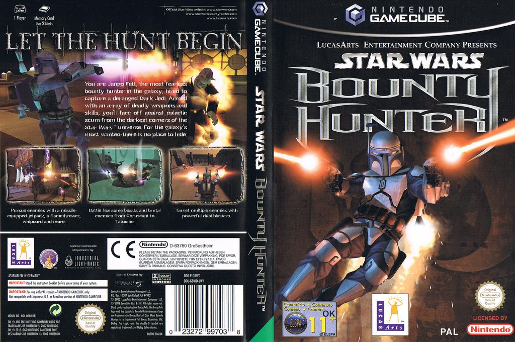Star Wars Bounty Hunter Wii coverfullHQ (GBWP64)