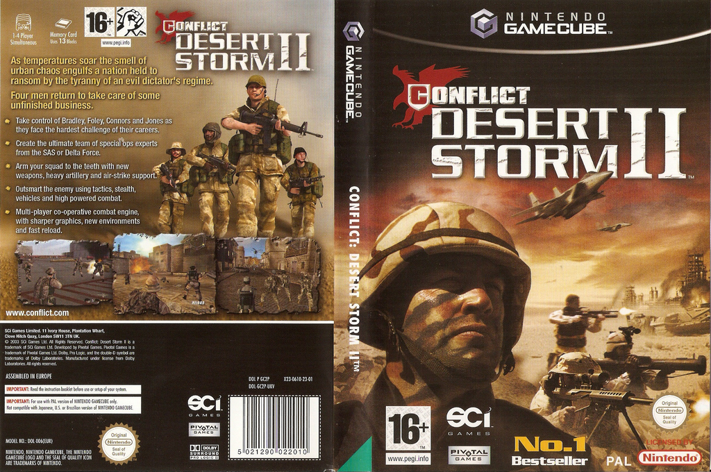 Conflict: Desert Storm II: Back to Baghdad Wii coverfullHQ (GC2P75)