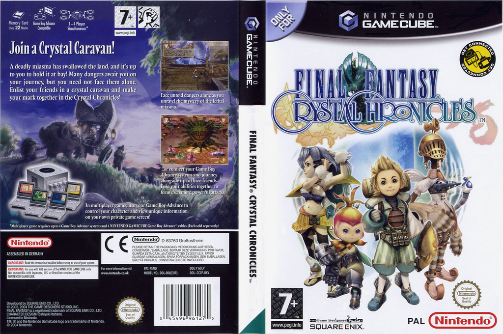 Final Fantasy Crystal Chronicles Wii coverfullHQ (GCCP01)