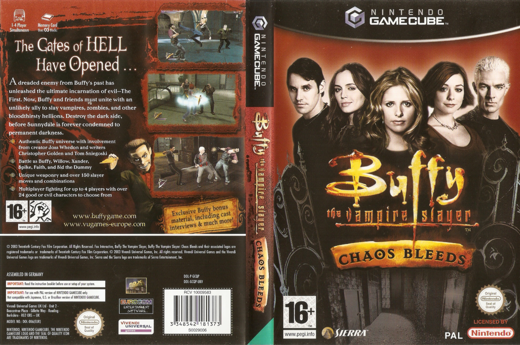 Buffy The Vampire Slayer Chaos Bleeds Wii coverfullHQ (GCQP7D)