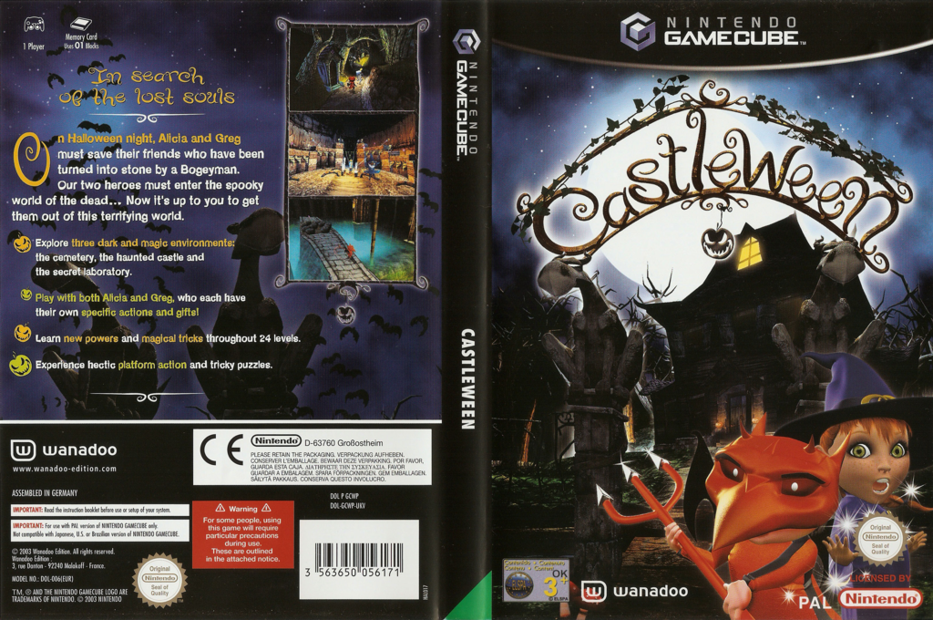 Castleween Wii coverfullHQ (GCWP6X)