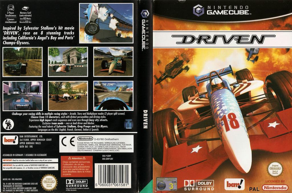 Driven Wii coverfullHQ (GDVP6L)