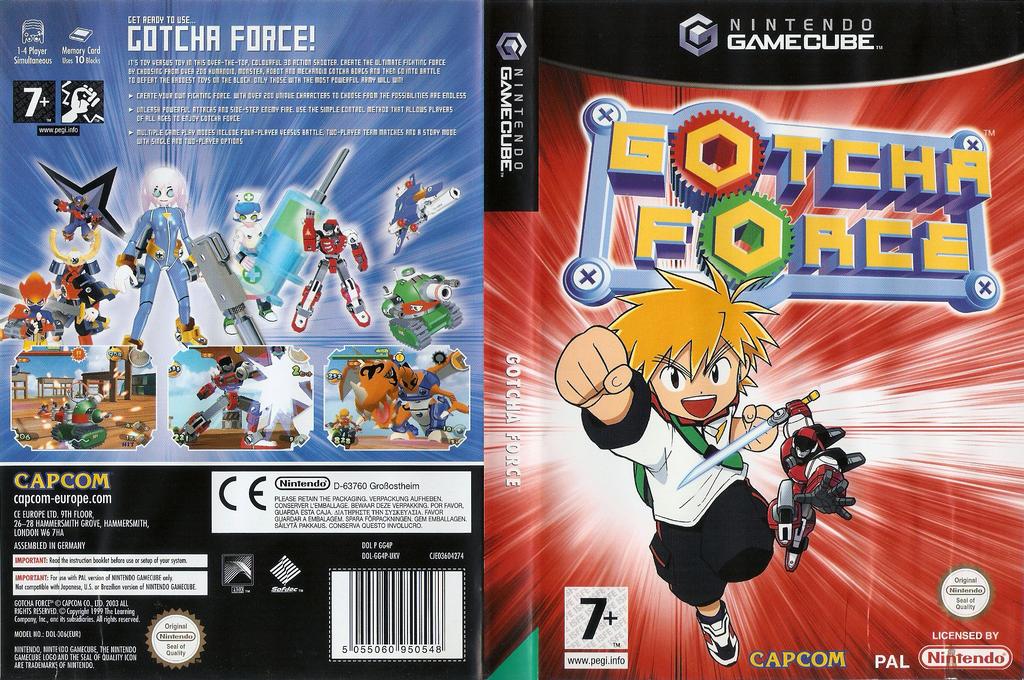 Gotcha Force Wii coverfullHQ (GG4P08)