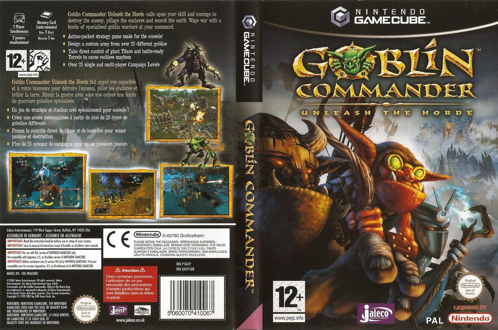Goblin Commander:Unleash the Horde Wii coverfullHQ (GGCP0A)