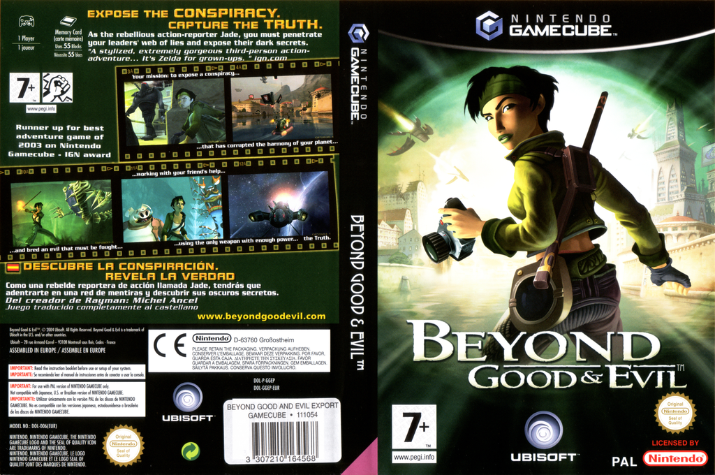 Beyond Good And Evil Wii coverfullHQ (GGEP41)