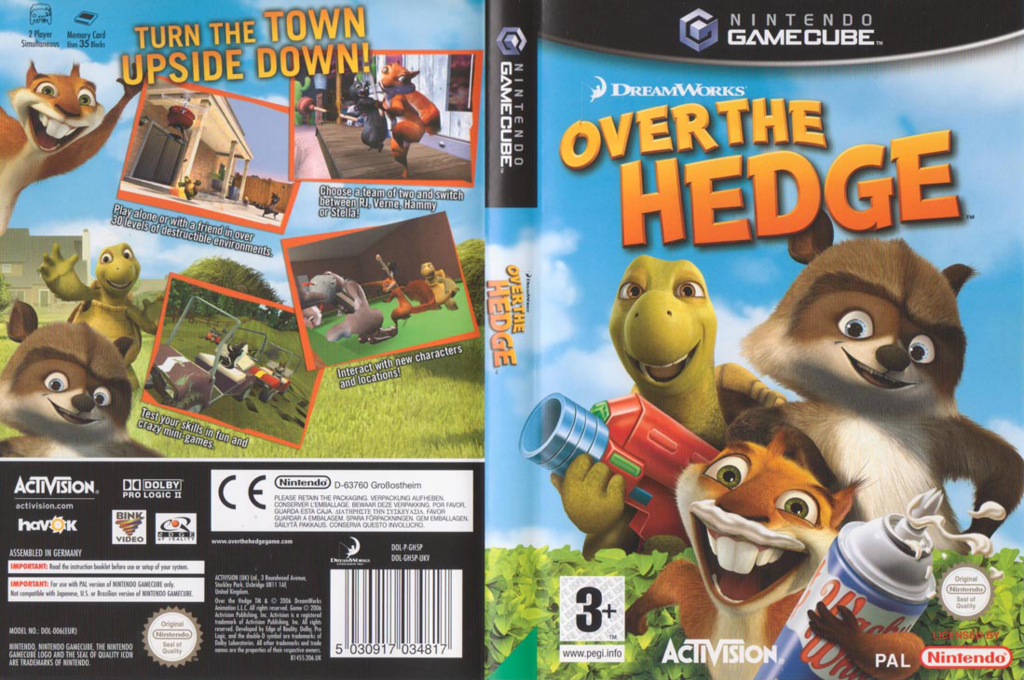 Over The Hedge Wii coverfullHQ (GH5P52)