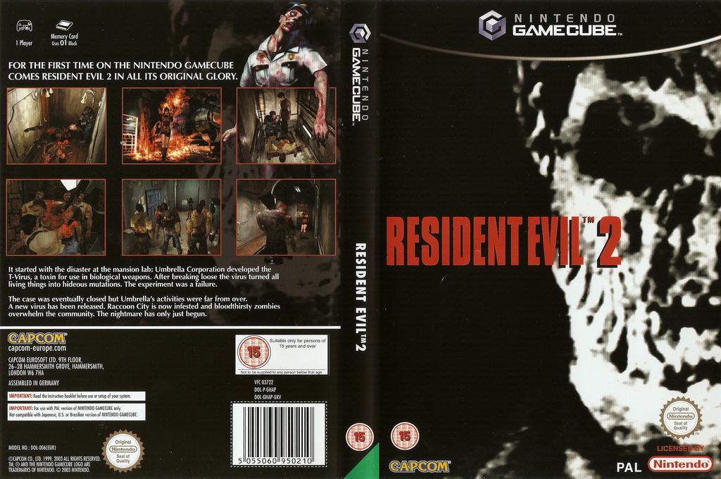 Resident Evil 2 Wii coverfullHQ (GHAP08)