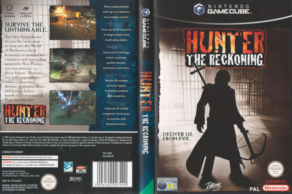Hunter: The Reckoning Wii coverfullHQ (GHNX71)