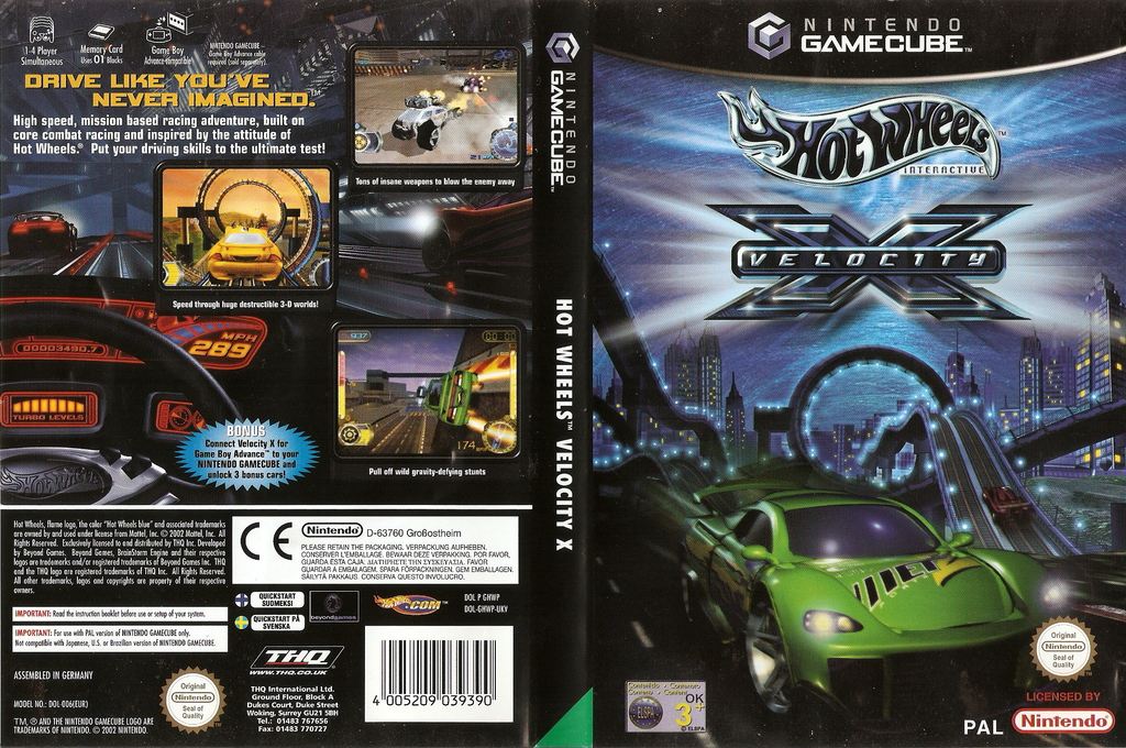 Hot Wheels: Velocity X Wii coverfullHQ (GHWP78)