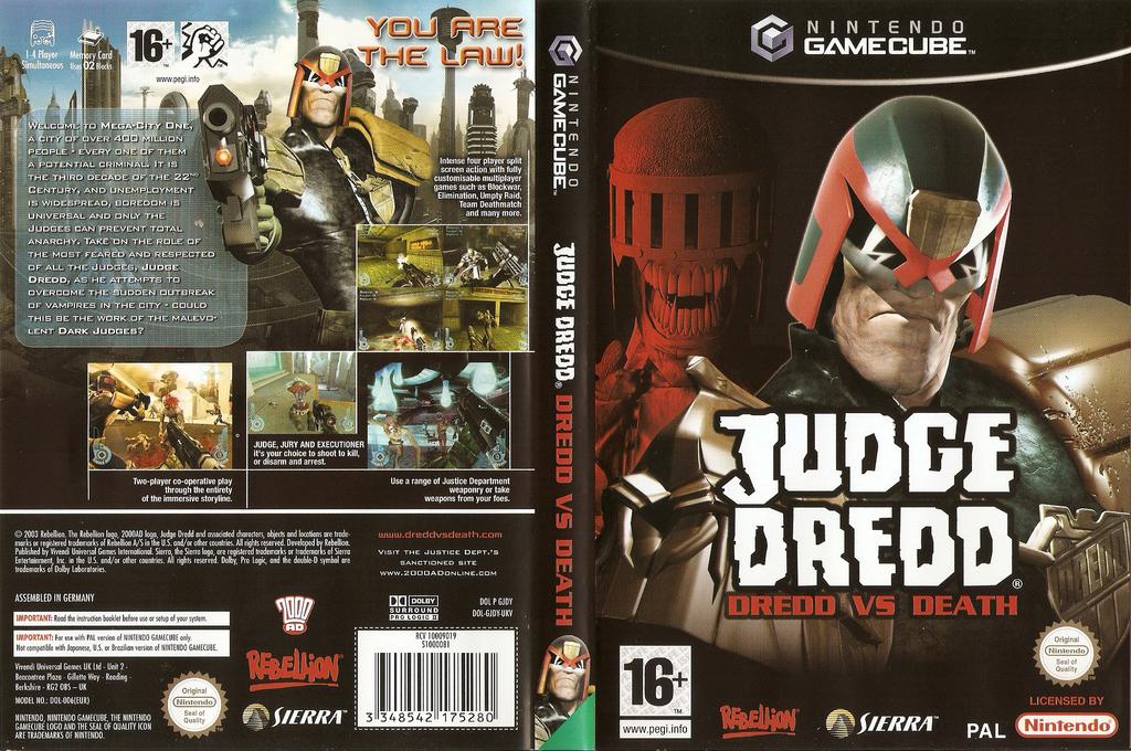 Judge Dredd: Dredd vs. Death Wii coverfullHQ (GJDY7D)